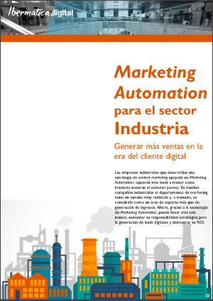 Portada publicación Marketing Automation Sector Industria