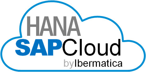 Logotipo de HANA SAP Cloud by Ibermática