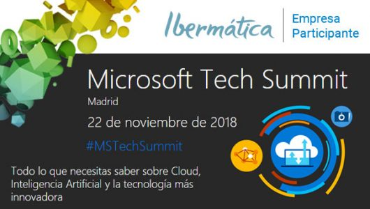 Imagen del evento Microsoft Tech Summit Madrid 2018