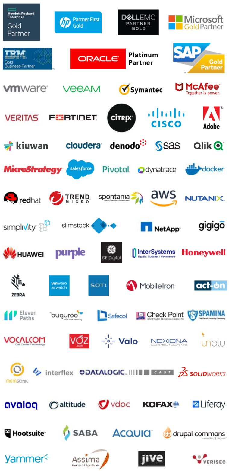 Partners (list of company logos)
