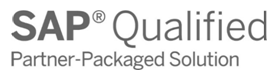 Logotipo de SAP Qualified - Partner Packaged Solution