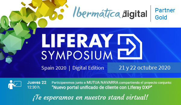 Liferay Symposium Spain 2020 - Digital Edition (21 y 22 octubre 2020)